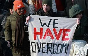 from we shall overcome to we have overcome