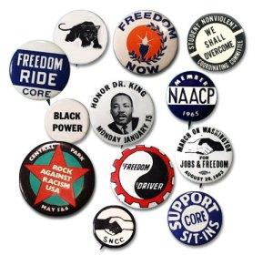 civil rights pins