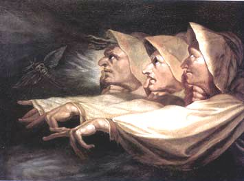 The 3 Witches by Fuseli