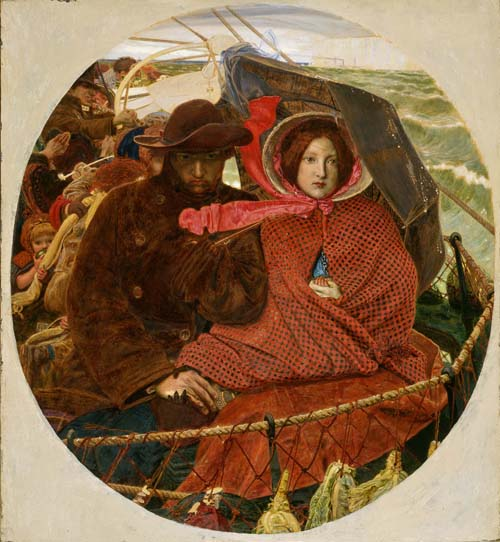 Ford Madox Brown - The Last of England (1860)