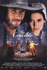 The Crucible film poster 1996