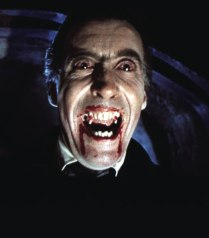 Christopher Lee (1922) : famous for playing Dracula in the 50s/60s with Hammer Films.