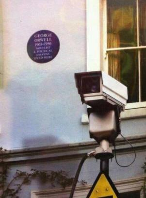Orwell would roll in his grave