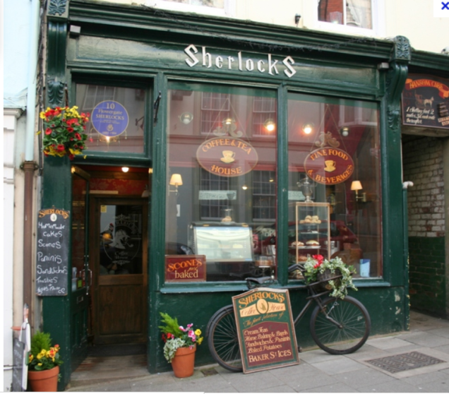 Sherlocks coffee house